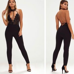 Lace jumpsuit Pretty Little Thing